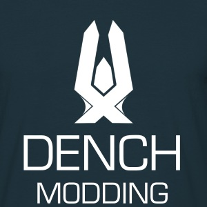 Dench Inprinted Logo with text! - Men's T-Shirt