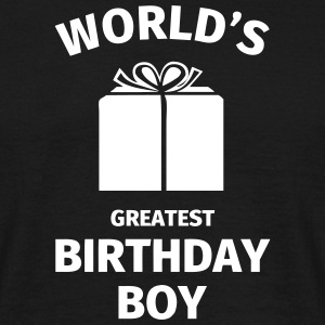 World's Greatest Birthday Boy Tee shirts - T-shirt Homme