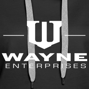 Batman 'Wayne Enterpreises' Women Hoodie - Premium hettegenser for kvinner