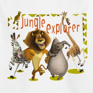Madagascar Jungle Explorer Kinder T-Shirt - Kinder T-Shirt