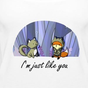 A wolf like you shirt - Débardeur Premium Femme
