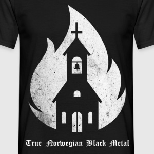 Norwegian Black Metal - Männer T-Shirt