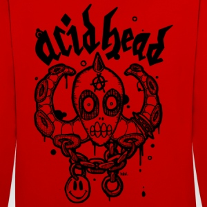 Acid head - Contrast Colour Hoodie