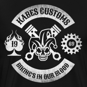 Kabes Custom Motorcycles - Men's Premium T-Shirt