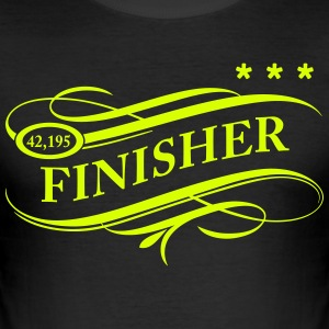 Finisher2 Personnalisable - Tee shirt près du corps Homme