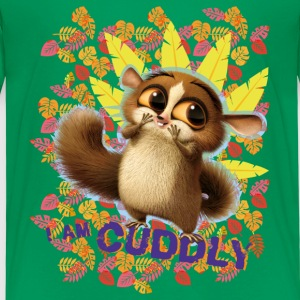 DreamWorks King Julien 'I am cuddly' Kinder T-Shir - Kinder Premium T-Shirt