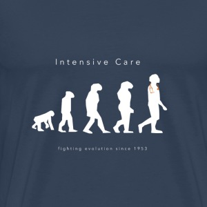Intensive Care Fighting Evolution Since 1953 - Men's Premium T-Shirt