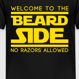 01 beard side Shirts - Teenage Premium T-Shirt