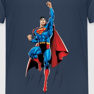 Superman Up and Away Teenager T-Shirt - Premium-T-shirt tonåring