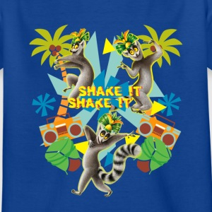 DreamWorks King Julien Shake it Teenager T-Shirt - Teenager T-Shirt