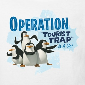 Madagascar Pinguine Operation Tourist Trap Kinder  - Kinder Bio-T-Shirt