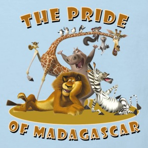 Madagascar The pride of Madagascar Kid's T-Shirt - Kids' Organic T-shirt