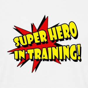 Super Hero In Training - Men's T-Shirt