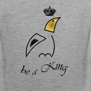 bird_King-shirt - Männer Premium Tank Top