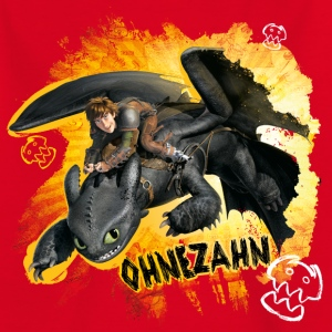 DreamWorks Dragons 'Ohnezahn' Teenager T-Shirt - Teenager T-Shirt