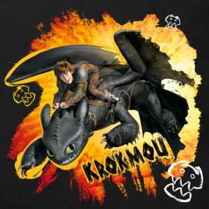 DreamWorks Dragons 'Krokmou' Tee shirt Enfant - T-shirt Bio Enfant