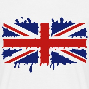 Dripping Union Jack - Men's T-Shirt