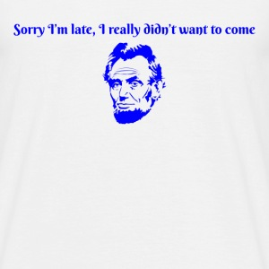Honest Abe - Men's T-Shirt