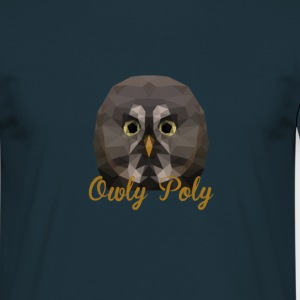 Owly Poly - T-shirt Homme