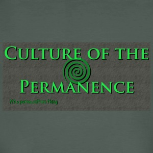 Bio Permashirt Culture Of The Permanence - T-shirt bio Homme