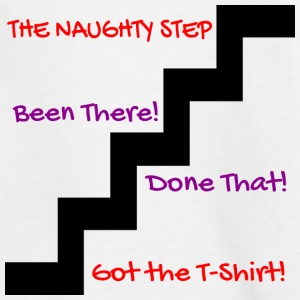 naughty step - Kids' T-Shirt