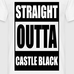 Outta Castle Black - Men's T-Shirt