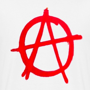 Anarchy Graffiti - Men's T-Shirt