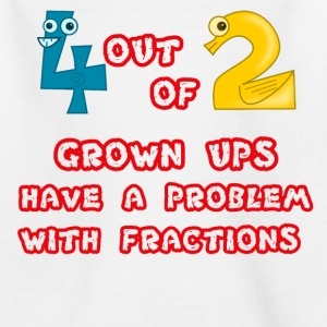 Fractions Problem  - Kids' T-Shirt