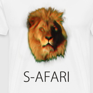 S-AFARI Lion - Men's Premium T-Shirt