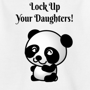Lock up daughters - Kids' T-Shirt