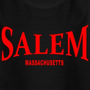 Salem Massachusetts – rot - Teenager T-Shirt