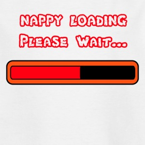 Nappy Loading - Kids' T-Shirt