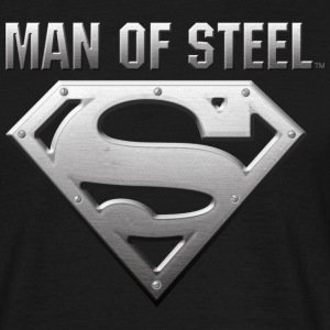 Superman Man of Steel Men T-Shirt - Herre-T-shirt