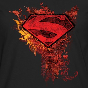 Superman S-Shield Ornate Tee shirt manches longues - T-shirt manches longues Premium Homme
