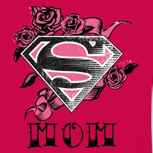 Superman S-Shield Mom Women Longsleeve shirt - Premium langermet T-skjorte for barn