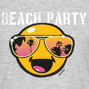 Smiley World Beachparty Männer T-Shirt - Männer T-Shirt