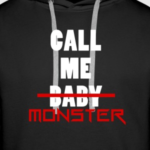 Sweat à Capuche-Call Me Monster - Sweat-shirt à capuche Premium pour hommes
