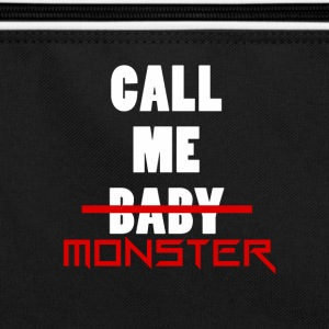 Sacoche- Call Me Monster-  - Sac Retro