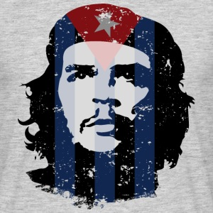 Che Guevara Men T-Shirt Cuba Flag - Men's T-Shirt