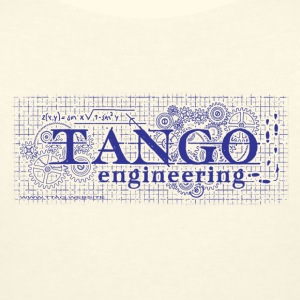 Tango Enginnering - Women's Organic V-Neck T-Shirt by Stanley & Stella