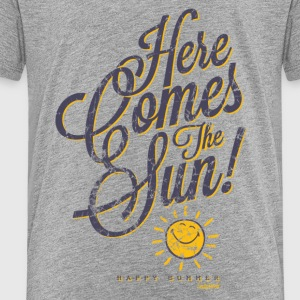 SmileyWorld 'Here comes the sun' teenager t-shirt - Teenage Premium T-Shirt