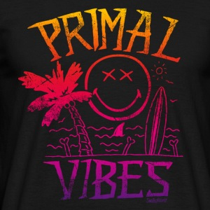 SmileyWorld 'Primal Vibes' Homme Tee Shirt - T-shirt Homme
