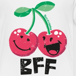 SmileyWorld 'BFF Cherries' kids t-shirt - Lasten premium t-paita