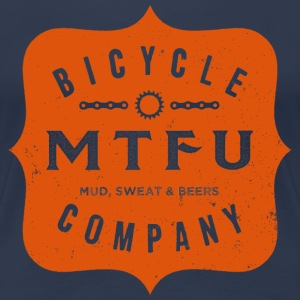 MTFU Bicycle Co. - Women's T Shirt - Women's Premium T-Shirt