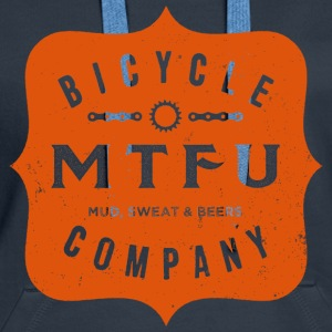Cycling Shirt - MTFU Bicycle Co. - Women's Hoodie - Women's Premium Hoodie