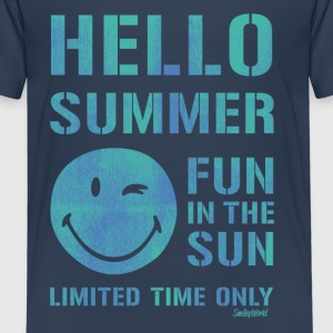 SmileyWorld 'Hallo Summer' kids t-shirt - Kids' Premium T-Shirt