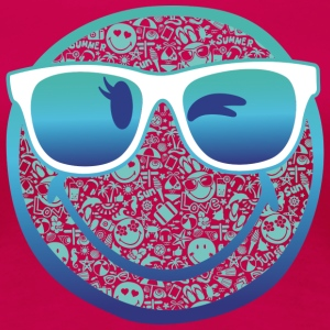 Smiley World Summer Sunglasses Frauen T-Shirt - Frauen Premium T-Shirt