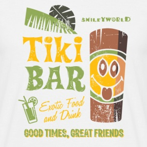 Smiley World Tiki Bar Männer T-Shirt - Männer T-Shirt