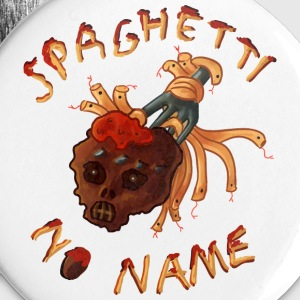 Spaghetti No Name pin - Buttons/Badges mellemstor, 32 mm