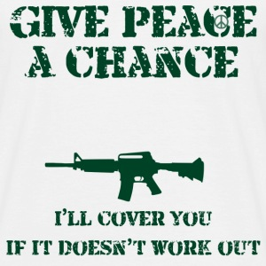 Peace a Chance - Men's T-Shirt